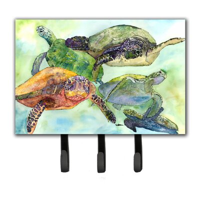 Turtle Leash Holder and Key Hook