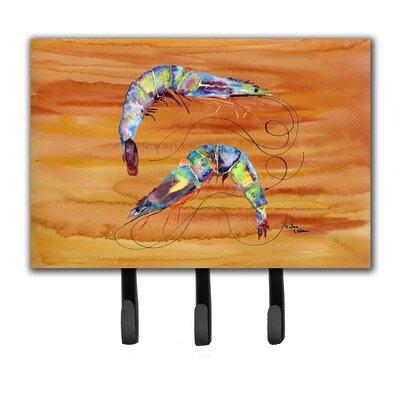 Shrimp Leash Holder and Key Holder
