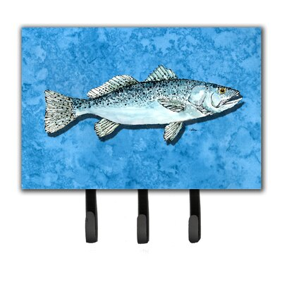 Trout Fish Leash Holder and Key Hook
