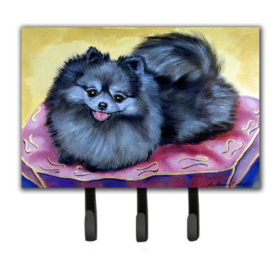 Pomeranian Leash Holder and Key Hook