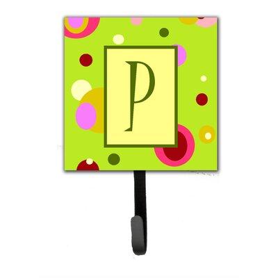 Monogram Wall Hook Letter: P