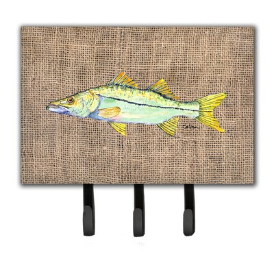Snook Fish Leash Holder and Key Hook