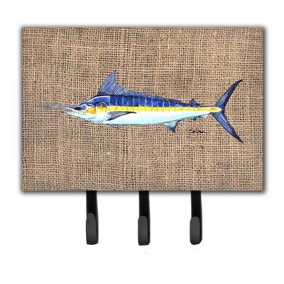 Marlin Fish Leash Holder and Key Hook