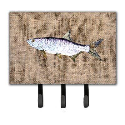 Tarpon Fish Leash Holder and Key Hook