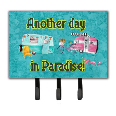 Another Day in Paradise Leash Holder and Key Hook