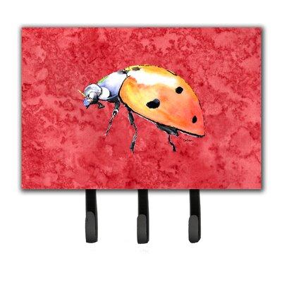 Lady Bug Leash Holder and Key Hook