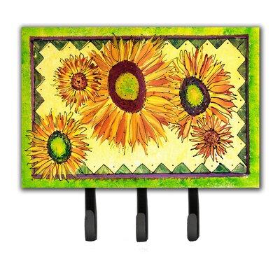 Sunflower Flower Key Holder