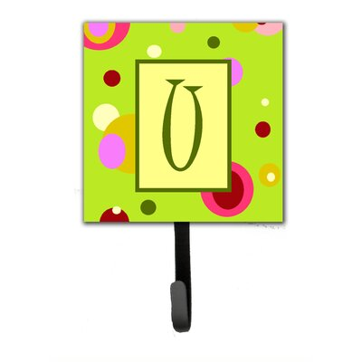 Monogram Wall Hook Letter: U