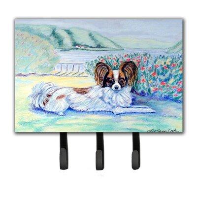 Papillon Leash Holder and Key Hook