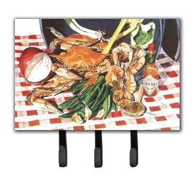 Crab Boil Leash Holder and Key Hook
