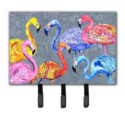 Flamingo Six Senses Leash Holder and Key Hook