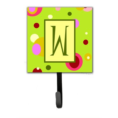 Monogram Wall Hook Letter: W