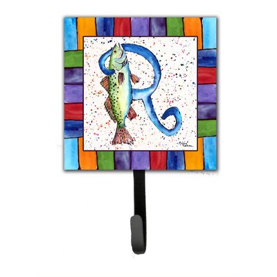 Beach and Seafood Wall Hook Letter: R
