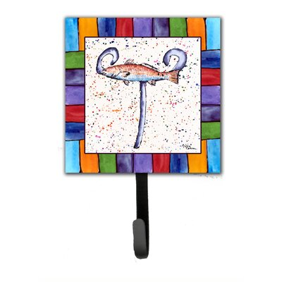 Beach and Seafood Wall Hook Letter: T