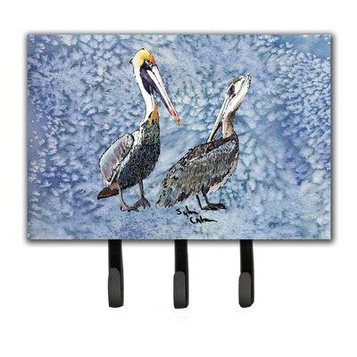 Pelican Leash Holder and Key Hook