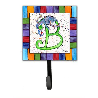 Beach and Seafood Wall Hook Letter: B
