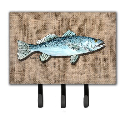 Fish Speckled Trout Leash Holder and Key Holder