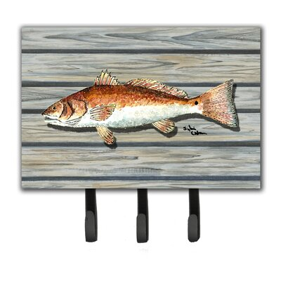 Fish Leash Holder and Key Hook