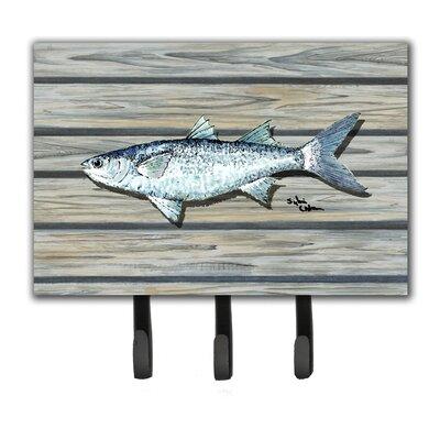 Fish Mullet Leash Holder and Key Hook