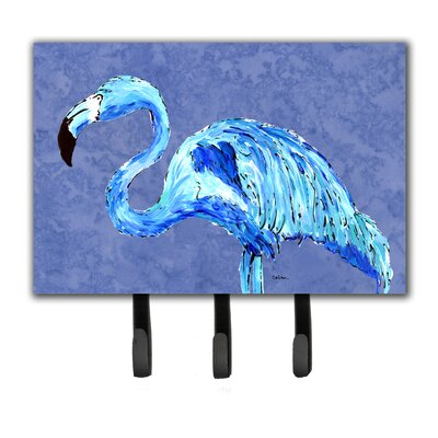 Flamingo Leash Holder and Key Hook