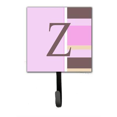 Monogram Stripes Wall Hook Letter: Z