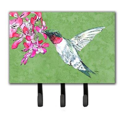 Hummingbird Leash Holder and Key Hook