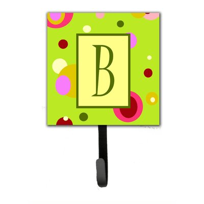 Monogram Wall Hook Letter: B