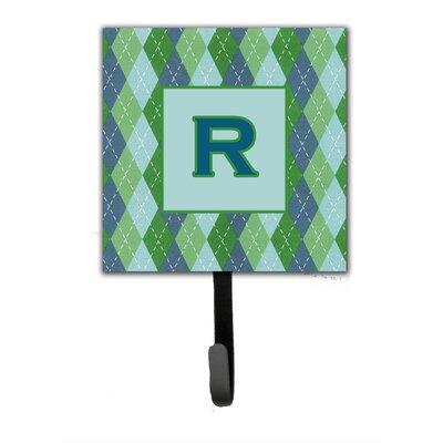 Monogram Argoyle Wall Hook Letter: R