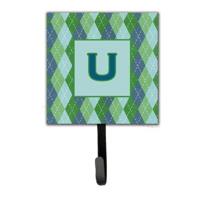 Monogram Argoyle Wall Hook Letter: U