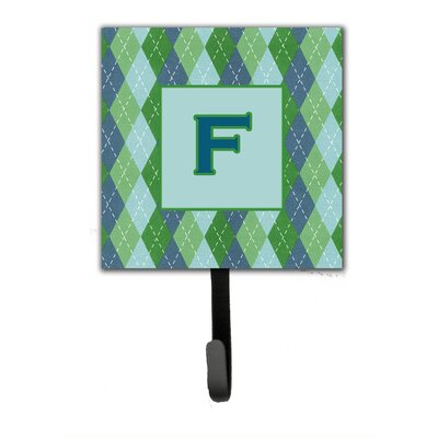 Monogram Argoyle Wall Hook Letter: F