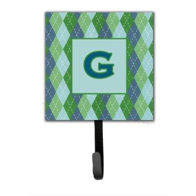Monogram Argoyle Wall Hook Letter: G