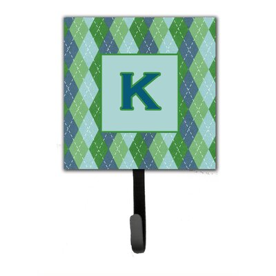 Monogram Argoyle Wall Hook Letter: K
