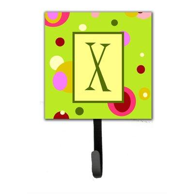 Monogram Wall Hook Letter: X