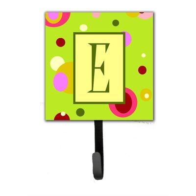 Monogram Wall Hook Letter: E