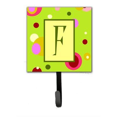 Monogram Wall Hook Letter: F