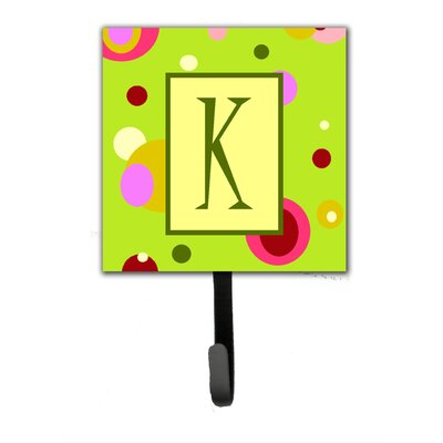 Monogram Wall Hook Letter: K
