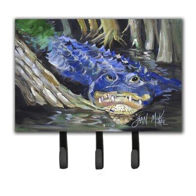 Alligator Leash Holder and Key Hook