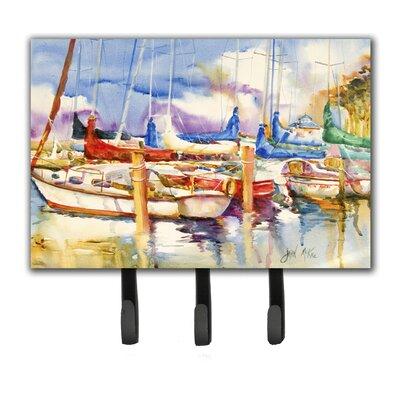 Run Away Sailboats Key Holder