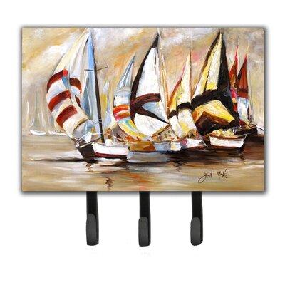 Boat Binge Sailboats Leash Holder and Key Hook