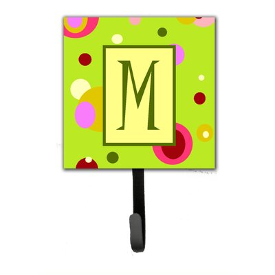 Monogram Wall Hook Letter: M