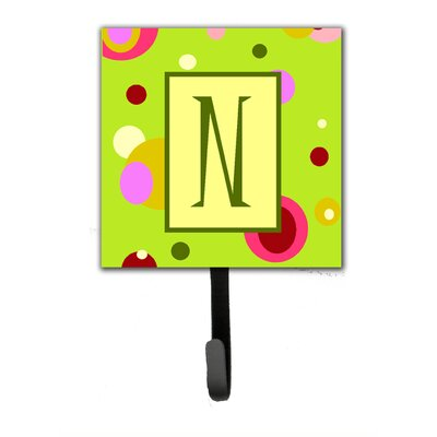Monogram Wall Hook Letter: N