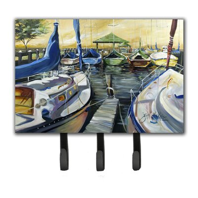 Seven Boats Sailboats Key Holder