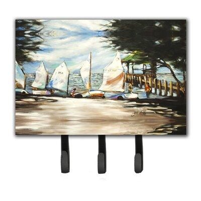 Sailing Lessons Sailboats Key Holder