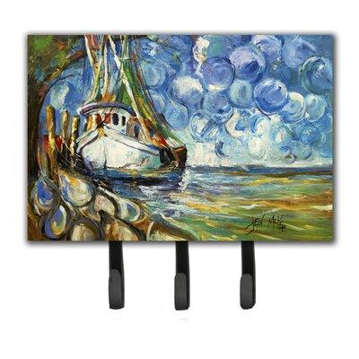 Shrimp Boat 101 Leash Holder and Key Hook