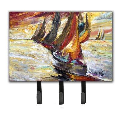 Sails Sailboat Key Holder
