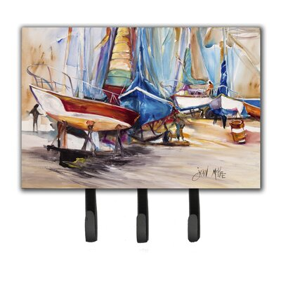 On The Hill Sailboats Key Holder
