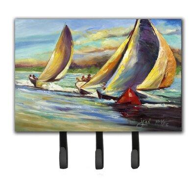Knost Regatta Pass Christian Sailboats Leash Holder and Key Hook