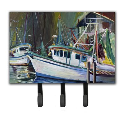 Joe Patti Shrimp Boat Key Holder