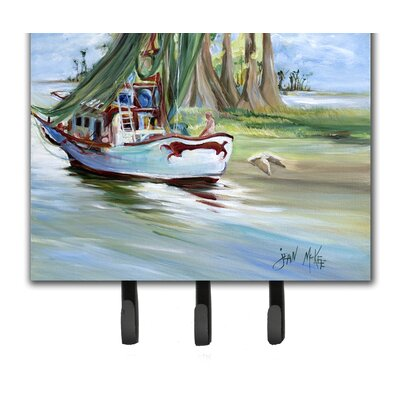 Jeannie Shrimp Boat Key Holder