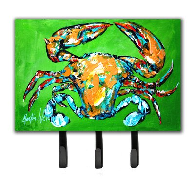 Wide Load Crab Leash Holder and Key Holder